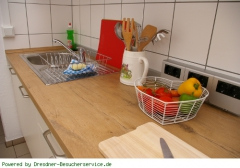 Küche mit Spühle