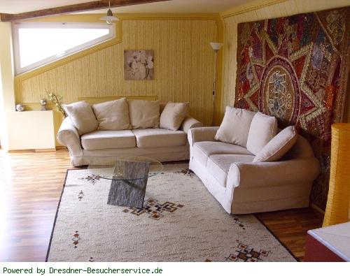 Wohnzimmer der Fewo