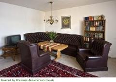 Wohnzimmer mit Sofaecke