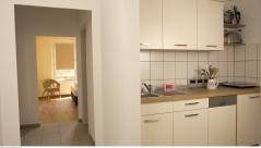 Offen gestaltete Küche