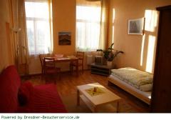 Wohn- und Schlafbereich Bild 1