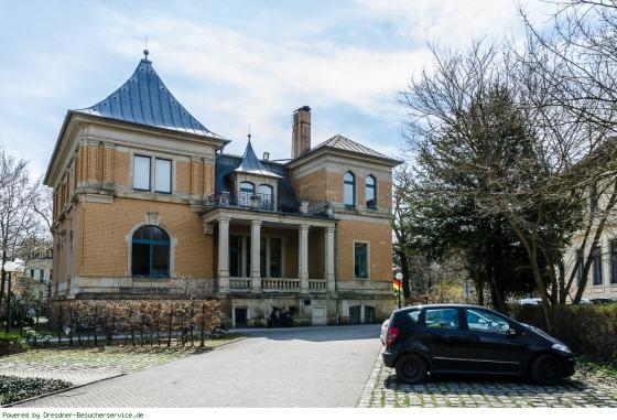 Villa Waldpark hinten