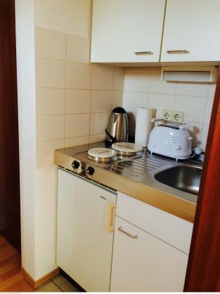 Küchenzeile in Flur