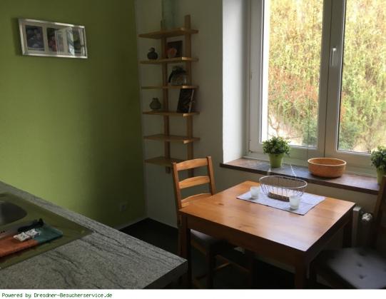Apart 7 - Urlaub im Herzen von Dresden Bild 6/8 Sitzecke Küche
