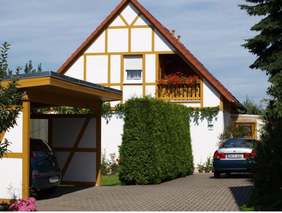 Carport für Gäste