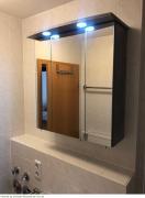 Spiegelschrank im Bad
