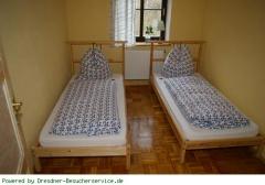 Schlafzimmer Fewo in Wehlen