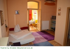 Zimmer der Fewo WE1