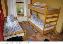 Fewo Wehlen Schlafbereich