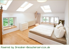 Schlafzimmer Apartment Panoram
