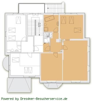 Grundriß Wohnung moderne
