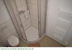 Dusche, WC uns Heizung
