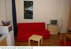Sitzbereich der Ferienwohnung