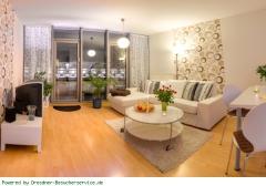 Wohnzimmer Apart 9, City Apart